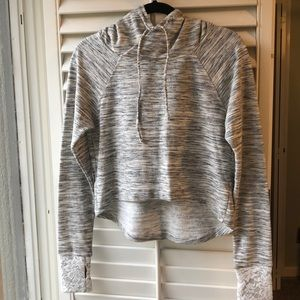 NWOT - Anthropologie Pure + Good Cropped Hoodie. S
